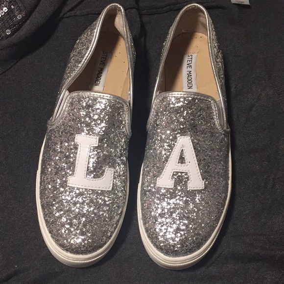 2e0853e67f6 Steve Madden Glitter Sneakers ✨. M 5a669b488af1c59965187cd0. Other Shoes ...